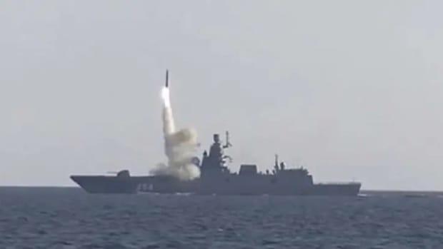 Russian Tsirkon Hypersonic Missile