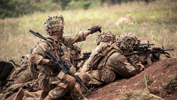U.S. Army Live Fire Exercise