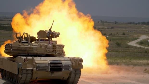 U.S. Army Abrams Tank