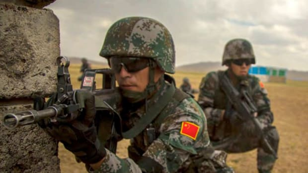China People's Liberation Army Soldiers