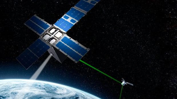 General Atomics Satellite