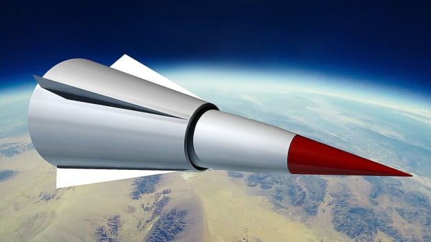 Chinese Hypersonic Missile