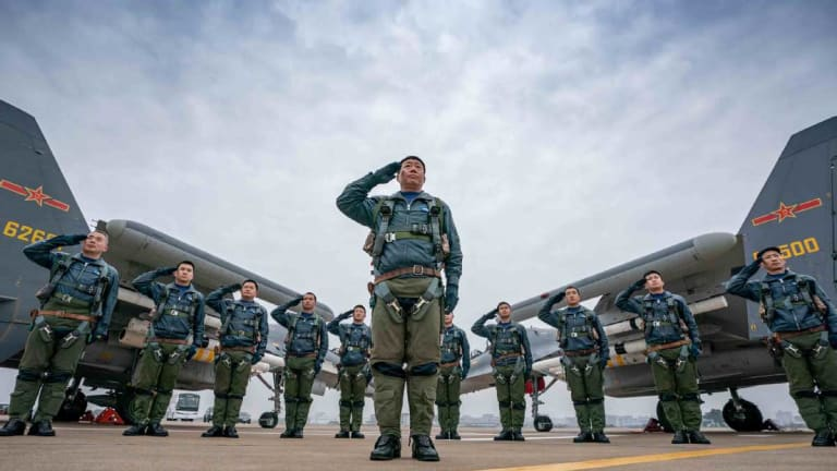 """Air Force Chief: China May Be """"Outpacing"""" the U.S."""