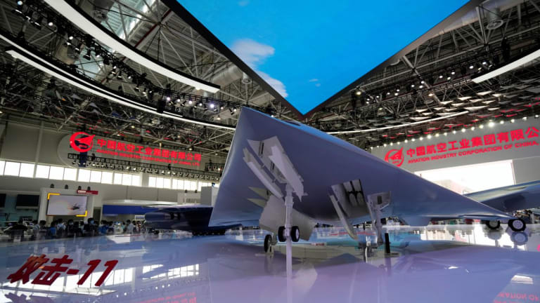 China Unveils its GJ-11 Stealthy Armed Attack Drone, with Internal Weapons Bay