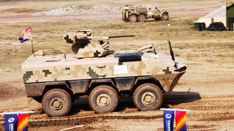 Double Take: Is the Chinese VN22 a U.S. Army Stryker Clone?
