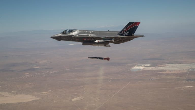 F-35s Move Closer to B61-12 Nuclear Bomb Deployment