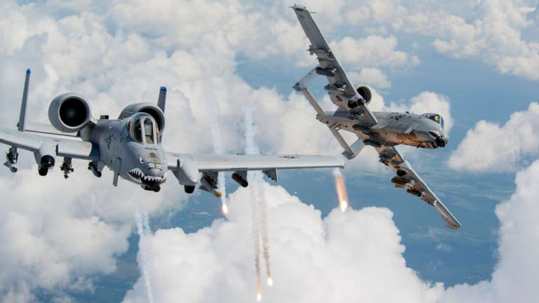 Air Force A-10 Flying Tank Lives to Fight into the Future