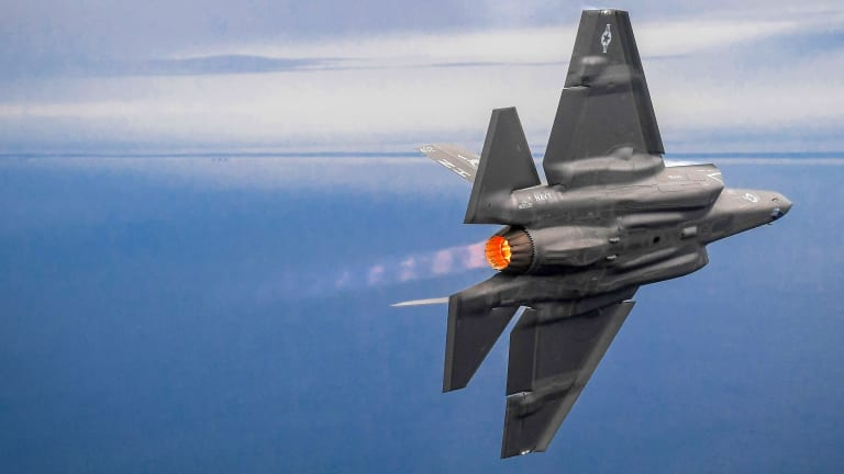 """Air Force Wants to """"Spike"""" F-35 Production Rate to Fly with 6th Gen Stealth Jet"""