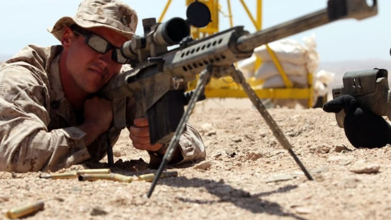 Army Gets New Sniper Rifles