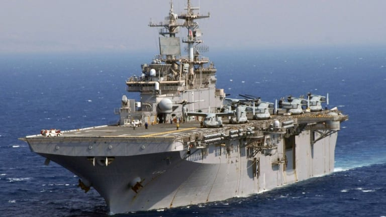 Russia is Fast-Tracking New Amphibious Assault Ships