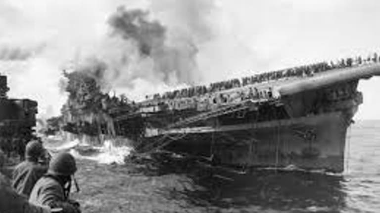 WWII Pacific: How the USS Franklin Survived a Kamikaze Attack