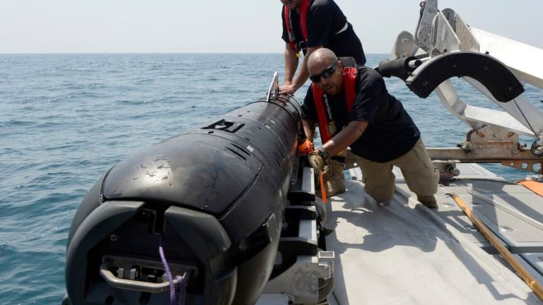 How the U.S. Navy and Boeing Could Make History With Robotic Submarines