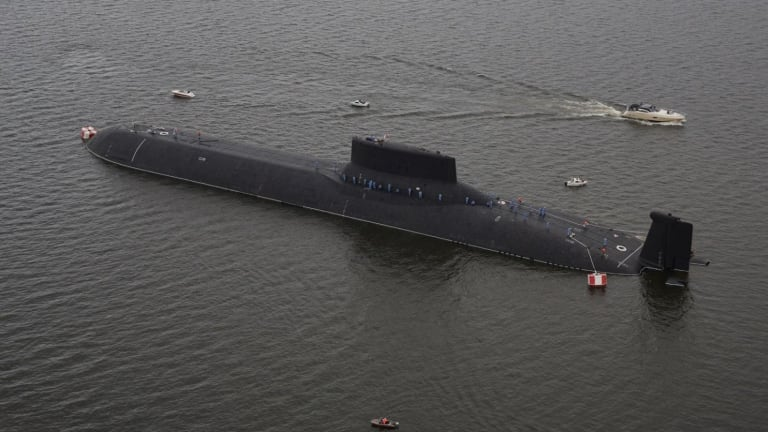 This is the Largest Submarine Ever Built