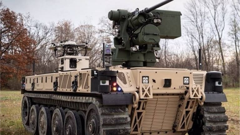Army Soldiers Shape Thinking About New Robotic Combat Vehicle  War Tactics