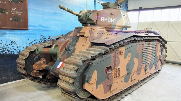 This Monstrous French Tank Ate German Panzers for Breakfast