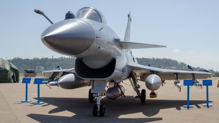 "Meet the J-10 ""Vigorous Dragon"" Fighter Jet: China's Own F-16"