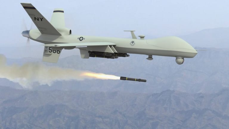"""New Drone Attack AI Tech Tracks """"Out of View"""" Targets"""