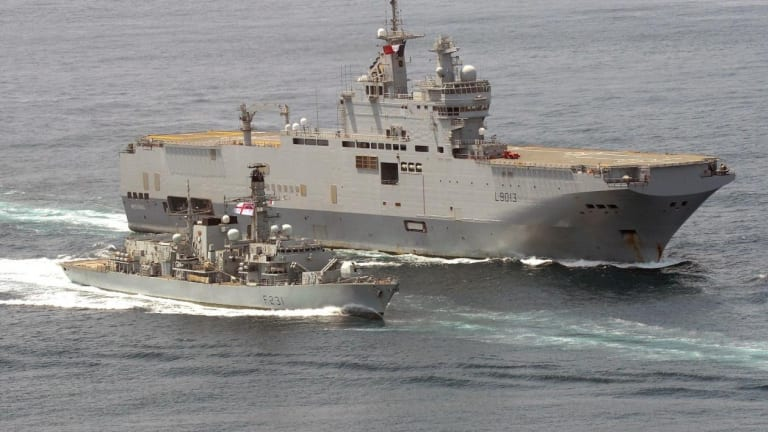 France Nearly Built 'Aircraft Carriers' for Russia
