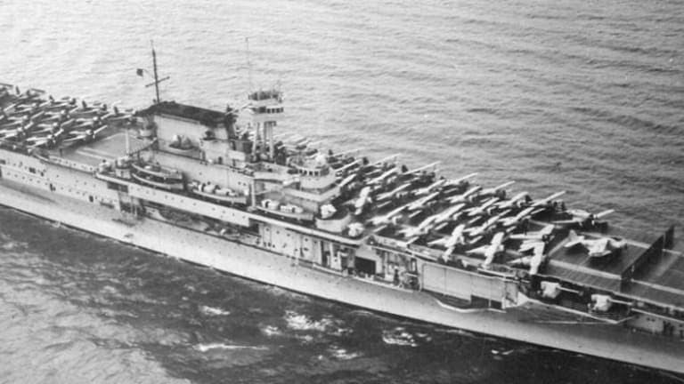 How The USS 'Enterprise' Helped Destroy the Core of the Japanese Fleet