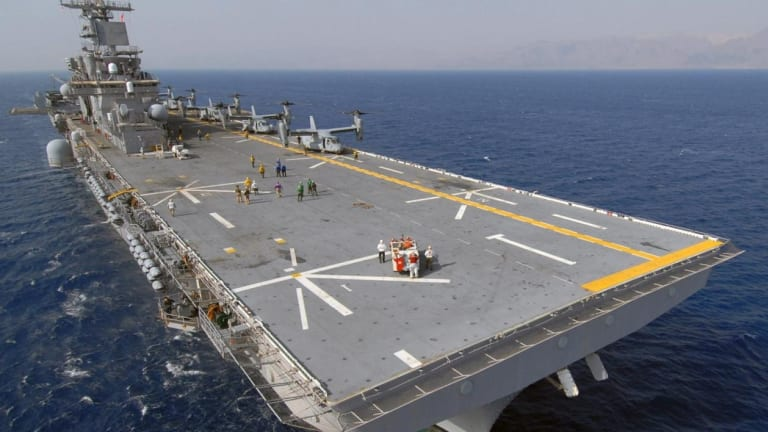 Are U.S. Marines Souring on Amphibious Assault Ships?