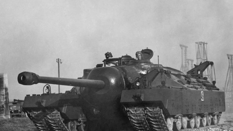 WWII: Why the Massive T-28 Super Tank Never Actually Saw Battle