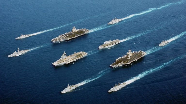 """Chief of Naval Ops Calls for """"Hybrid Fleet"""" of Manned Ships and Drones"""