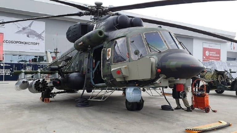 """Russia Pursues New Mi-17-Type Helicopter - Called """"Gathering Storm"""""""