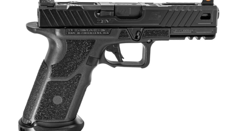 "ZEV OZ-9: This ""Glock-alike"" Pistol Fires More Than One Bullet At a Time"