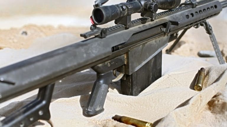 What can the Barrett M82 Sniper Rifle Do?