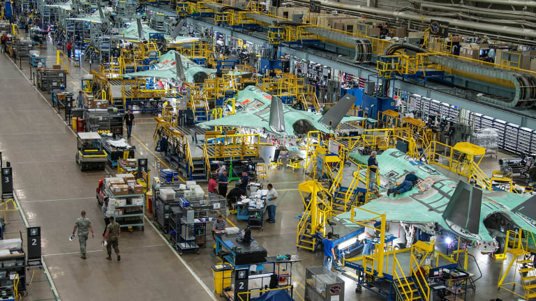 Special Report: Inside Building the F-35 - Where Stealth Begins