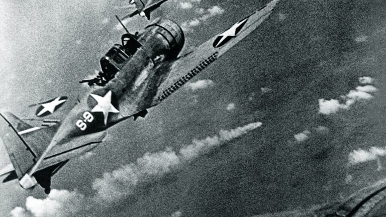 The Story of the Only Medal of Honor Awarded for the Battle of Midway