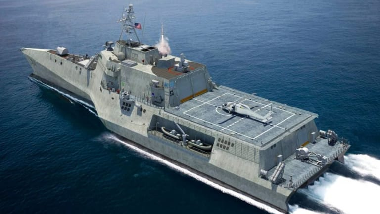 """Navy LCS Prepares for War With """"Quick Reversal"""" and """"Weapons"""" Maneuvers"""