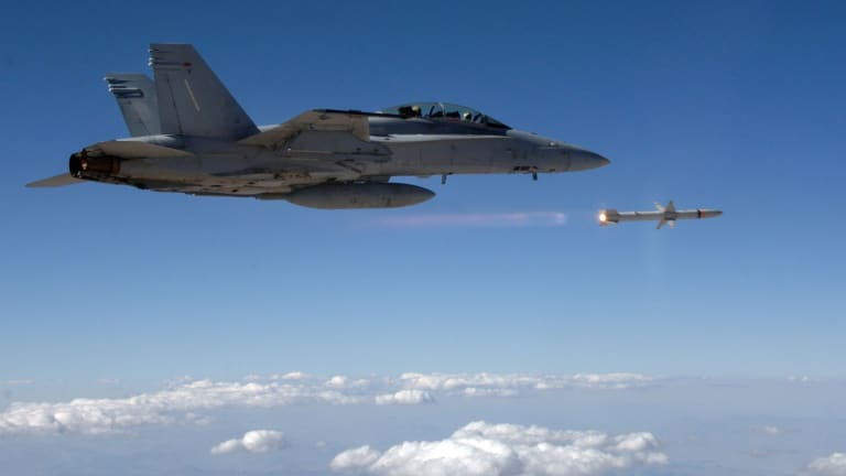 New Navy Air-to-Ground Missile Destroys Air Defenses from 120 Miles