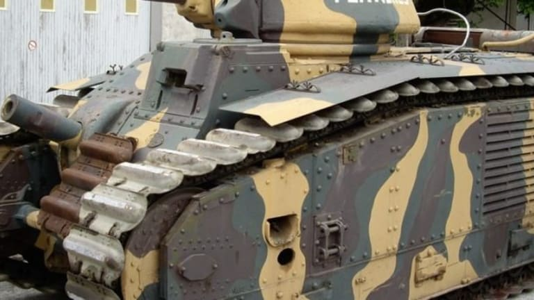 WWII: These Monstrous French Tanks Ate German Panzers for Breakfast