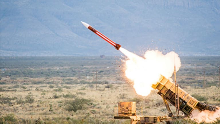 U.S. Army Patriot Missile Destroys Maneuvering Cruise Missile Attacks