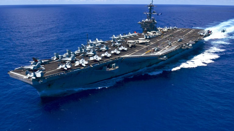 Future USS Ford Takes Huge Step Toward Combat