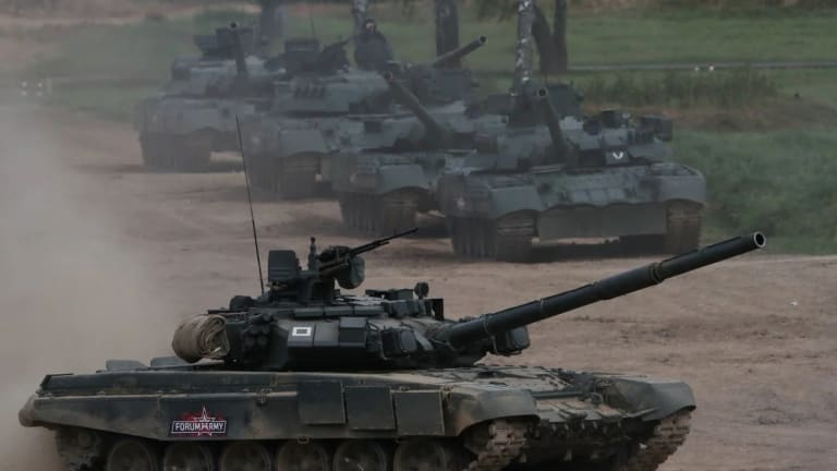 Russia Just Showcased to the World Its New Military Weapons