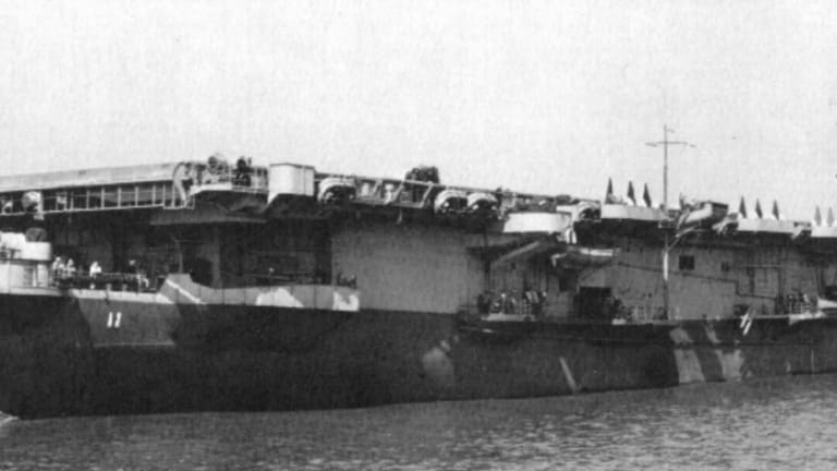 How a U.S. Escort Carrier Was Sent to the Ocean Floor by Vietnamese Commandos