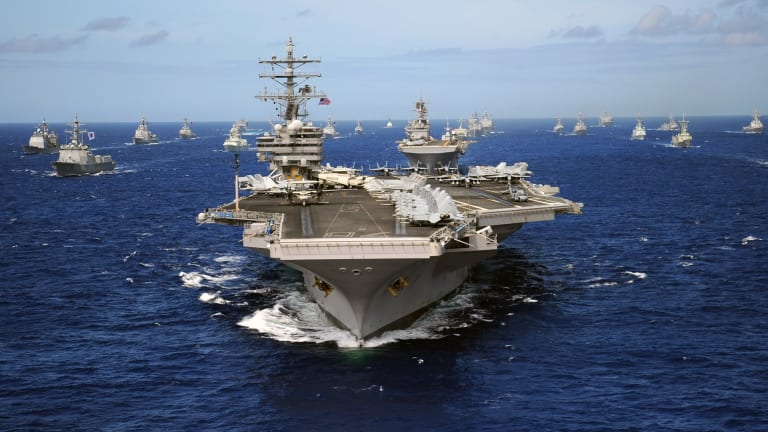 Can North Korea Could Sink a U.S. Aircraft Carrier