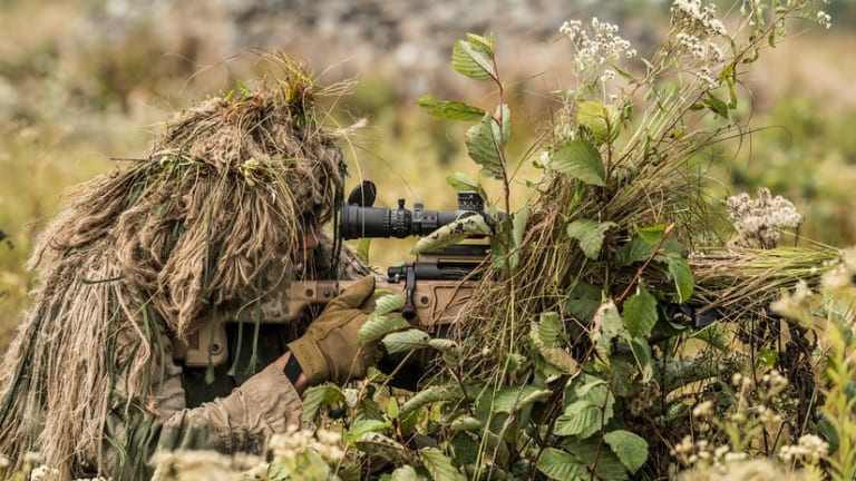 Face of Defense: Making Marine Snipers