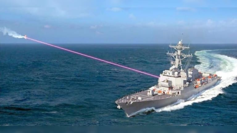 """Navy Wants to go """"Way Faster"""" Adding Lasers Weapons to Warships"""