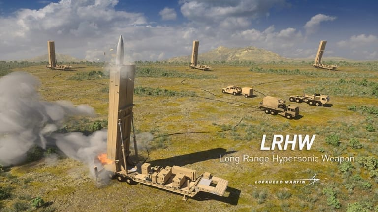 Coming in 2023: Lockheed Martin's Mach 5 Long Range Hypersonic Weapon