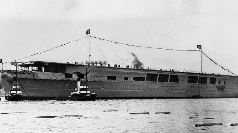 'Graf Zeppelin' Was Nazi Germany's Big, Dumb Aircraft Carrier