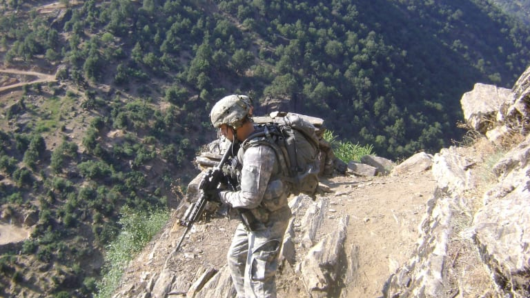 Medal of Honor Recipient Saved Combat Outpost