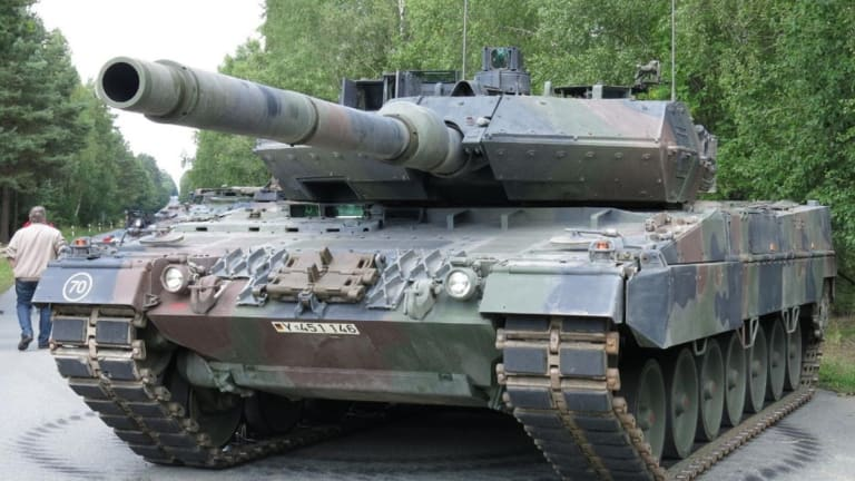 This German Tank Has Had A Lot of Trouble (And Death) in Syria