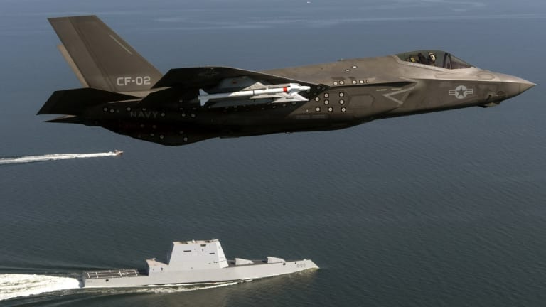 """Marines: The F-35 Is Like a Velociraptor That """"Kills Everything"""""""