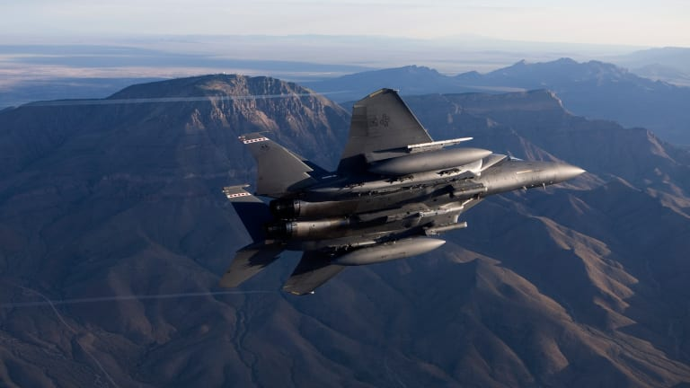 """Air Force F-15E Now Armed With """"Ready for War"""" New Stormbreaker Bomb"""