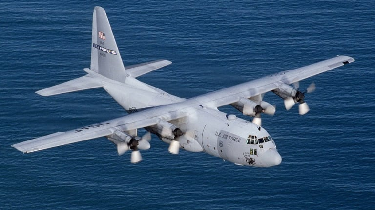 """Classic C-130 Gets New """"Electronic Propeller Controls"""" to Fly into 2040s"""