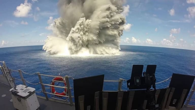 Navy to Explode Bombs Near New USS Ford Carrier & Finalize Weapons