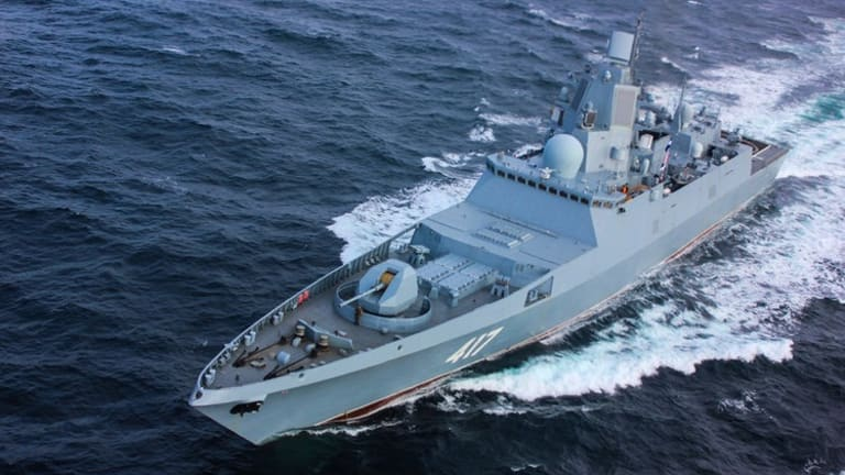 Russia's new stealth frigate, a small warship that's better armed than LCS